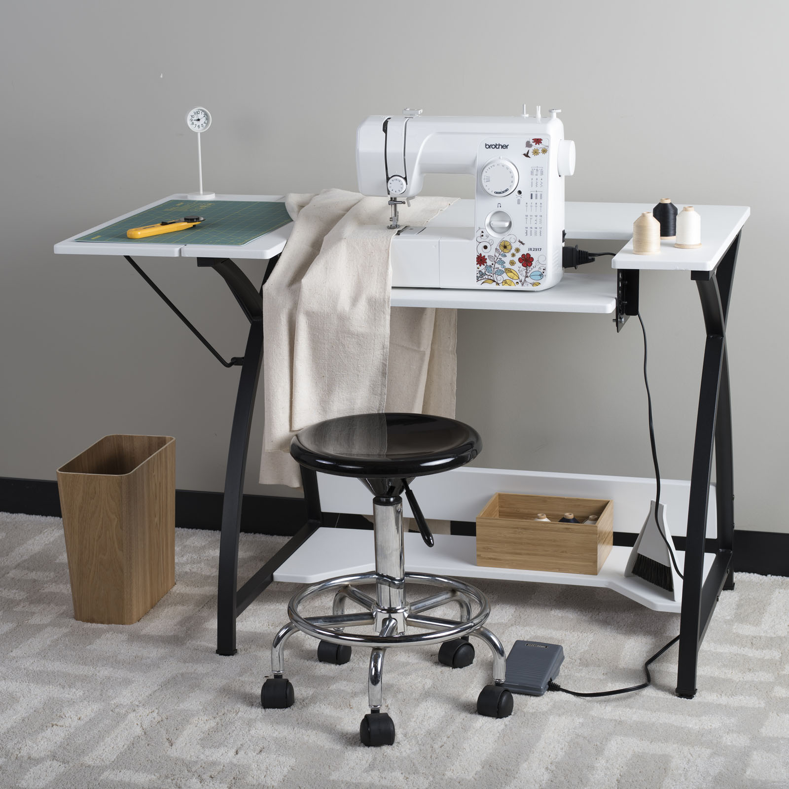 comet hobby sewing table. Black Bedroom Furniture Sets. Home Design Ideas