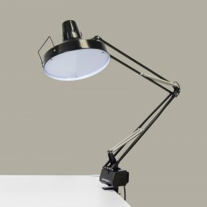 12036 LED Studio Combo Lamp Black RmSet
