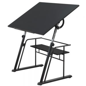 13340 Zenith Drafting Table L front high