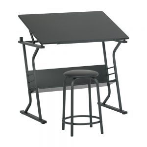 13366 Eclipse Table with Stool