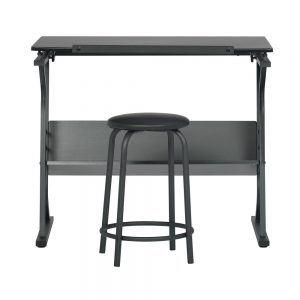 13366 Eclipse Table with Stool front down