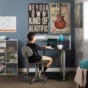 55123 Study Corner Desk RS1d