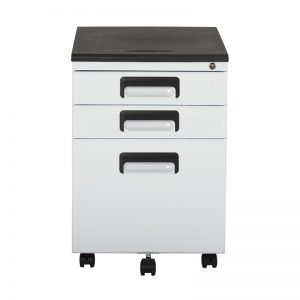 37014 3 Drawer File Cabinet front