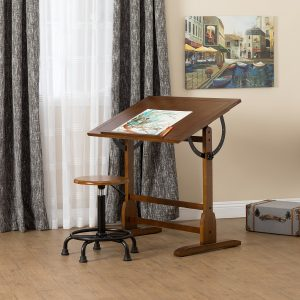 DRAFTING TABLES- Large, Angle Adjustable Tops (Taller than Craft Tables)