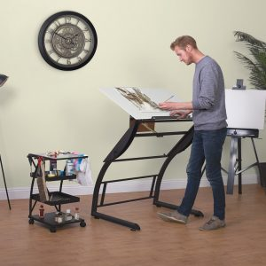 10098 Triflex Drawing Table RS1 model1 ext