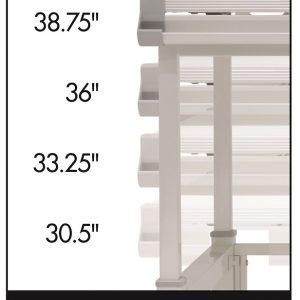 10212 Graphix II Pro Line Table height settings