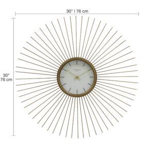 73001 Wall Clock wDim
