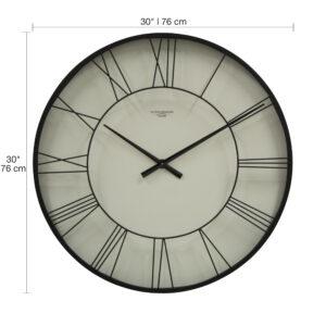 73021 Wall Clock wDim